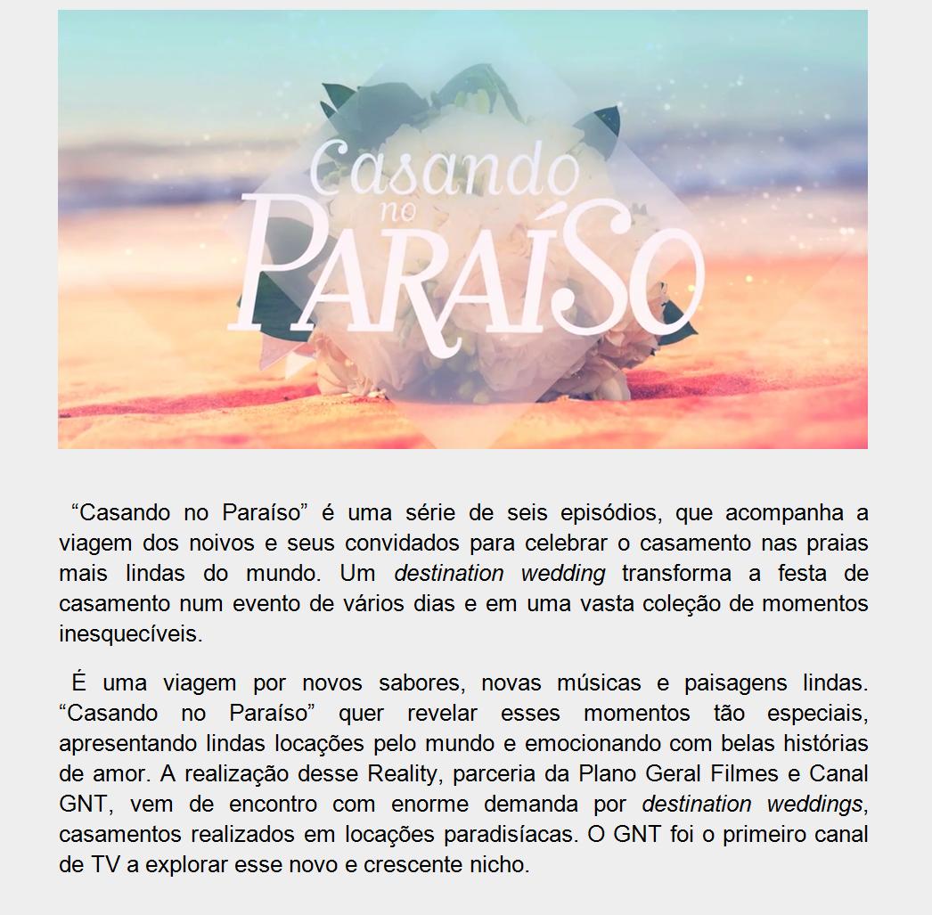 CASANDO NO PARAÍSO SITE PLANO